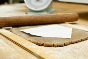 Tip for rolling Gingerbread dough