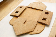 Gingerbread House Parts